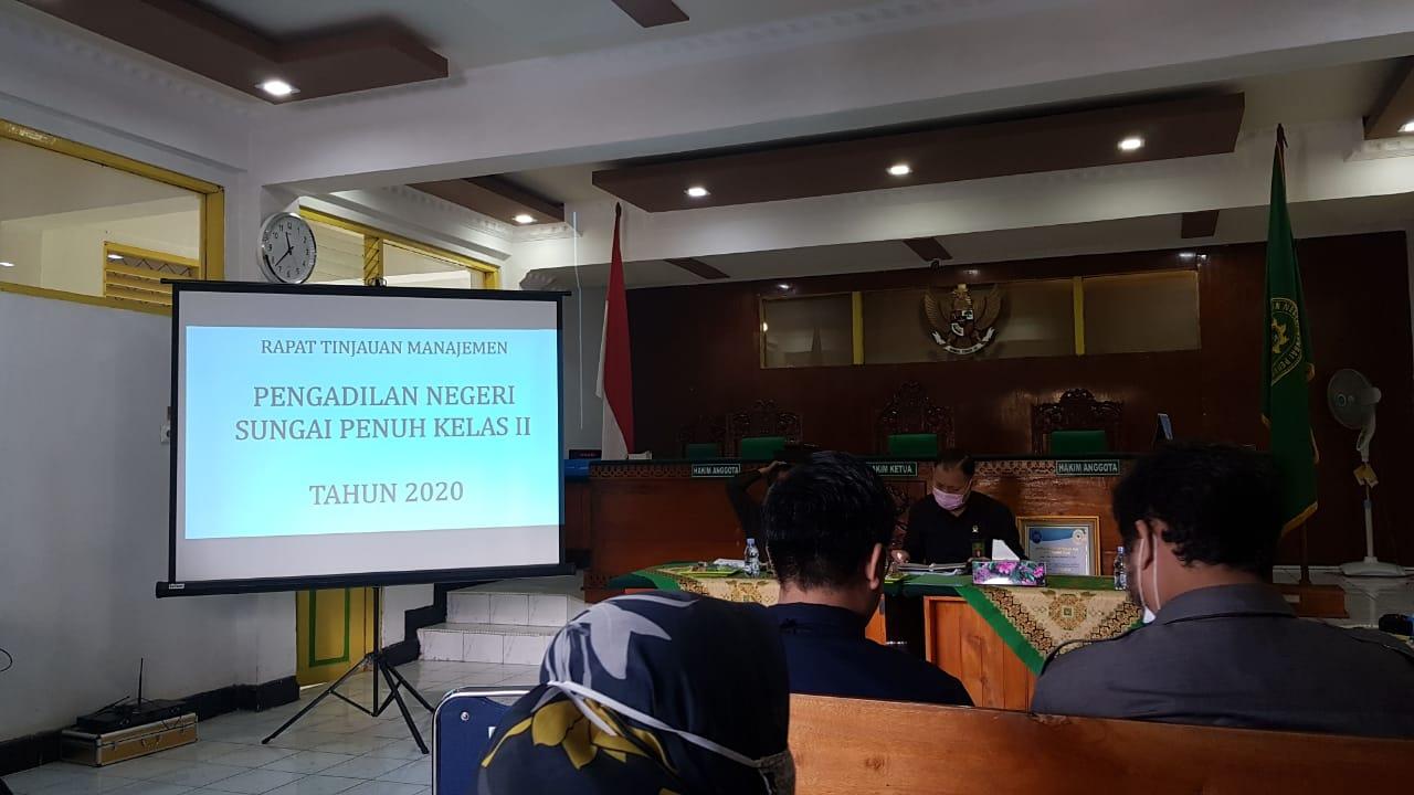 Rapat Tinjauan Manajemen Pengadilan Negeri Sungai Penuh Kelas II